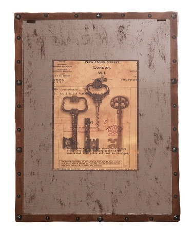 Take a look at this Mesh Rust Keys Wall Art  by A Stylish Home: Accents & Décor on #zulily today!