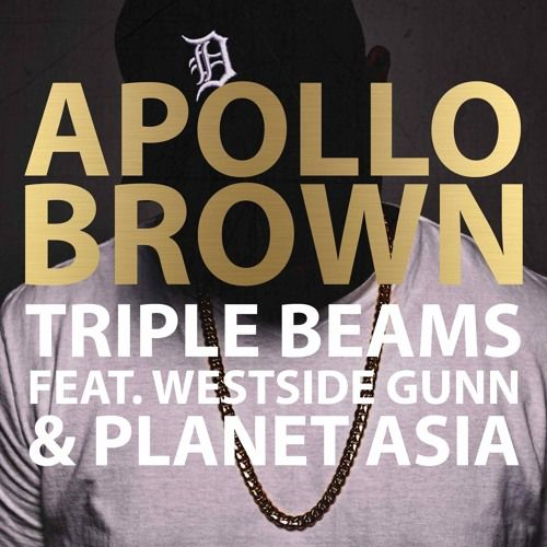 "Apollo Brown comes through with a new joint ""Triple Beams,"" featuring Westside Gunn & Planet Asia. This is off his new album ""Grandeur,"" due out on September 25th, via Mello Music Group."