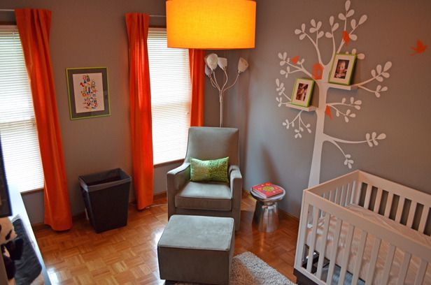 LOVE the family tree in this nusery. #nursery #pinparty