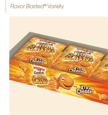 Pepperidge Farm® - Xtra Cheddar Flavor Blasted Goldfish Multi-Pack