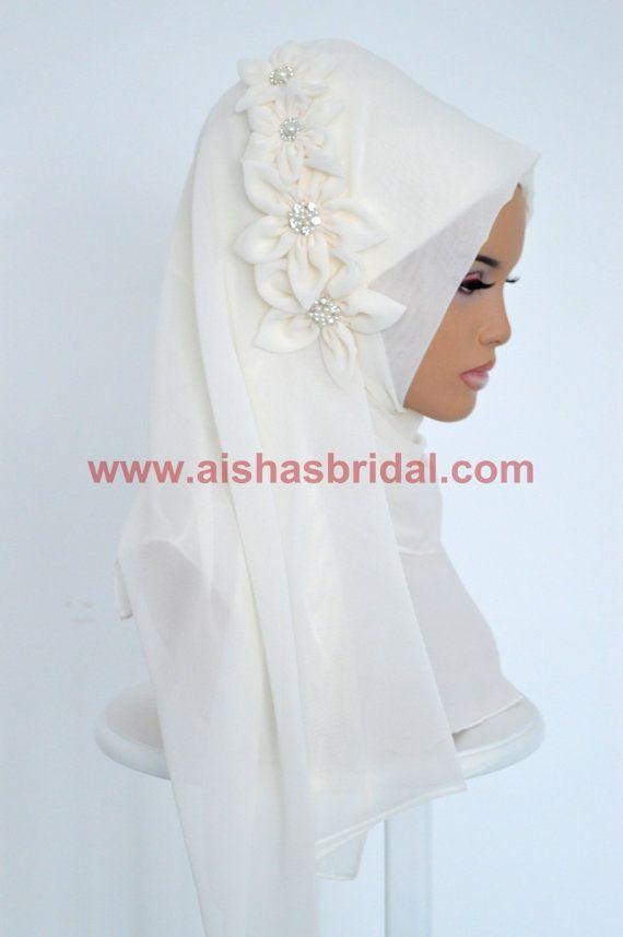 Shawl Code: AS-0033  Muslim Women Hijab Scarf by HAZIRTURBAN