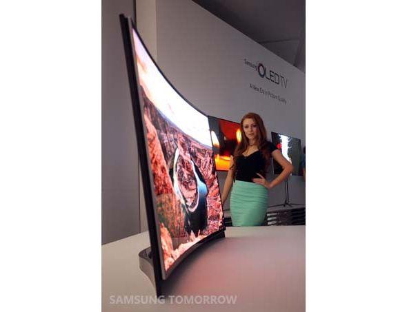 Samsung curved OLED