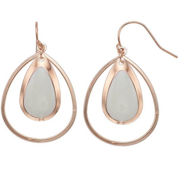 Mint Green Double Teardrop Earrings ($8.40) ❤ liked on Polyvore featuring jewelry, earrings, light pink, fishhook earrings, metal jewellery, tear drop earrings, mint jewelry and mint earrings