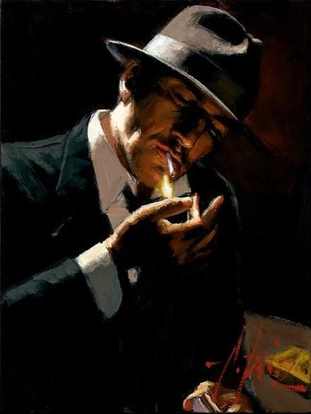Fabian Perez. One of my favourite artists.