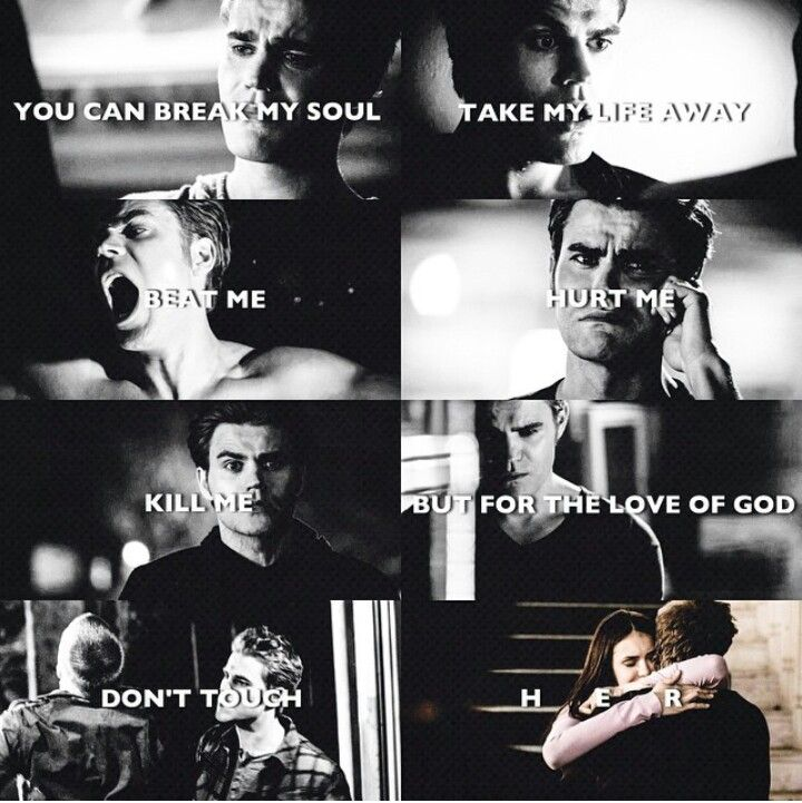 Stefan...Still haven't decided who Elena should be with...they are both great in completely different eays
