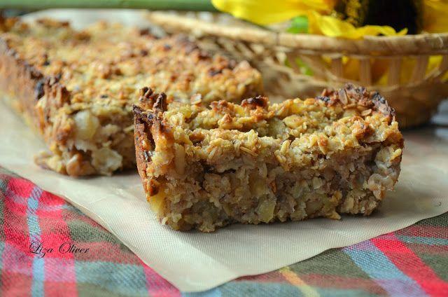 """MY FOOD или проверено Лизой: Овсяный пирог в стиле """"Гранола"""" - идеально для пик..."""