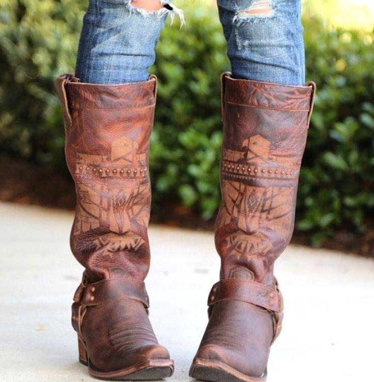 Junk Gypsy boots.