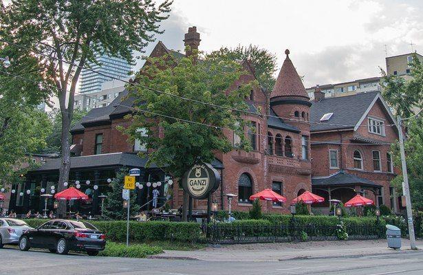 Osteria dei Ganzi Breathes New Life into an Old Toronto Mansion
