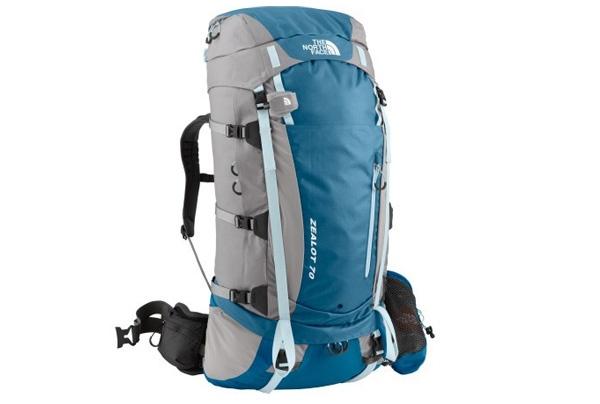 Trekking - Senderimos - Mochila de montaña The North Face Zealot 70 Mujer - Zealot 70 - The North Face - Shed Marks