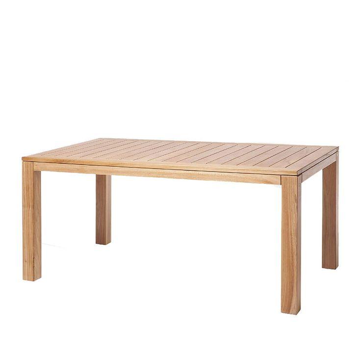 Небольшой обеденный стол из массива тика. Массив драгоценного дерева и немецкое качество для вашего комфортного отдыха             Метки: Деревянные столы, Кухонный стол, Обеденный стол из массива.              Материал: Дерево.              Бренд: Teak House.              Стили: Скандинавский и минимализм.              Цвета: Коричневый.