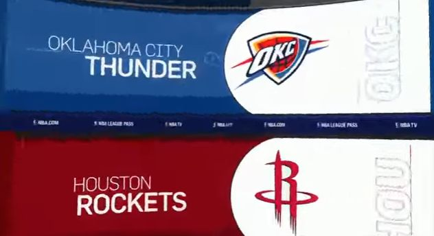 NBA Playoffs Western Conference 1st Round: Oklahoma City Thunder (6) vs Houston Rockets (3) (Game 1) Full Game Highlights HD, Replay, Recap, Scores, Standings, Reddit Live Streams