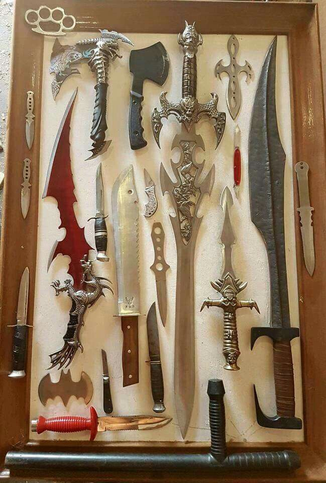 Silas Dragonway Weapons