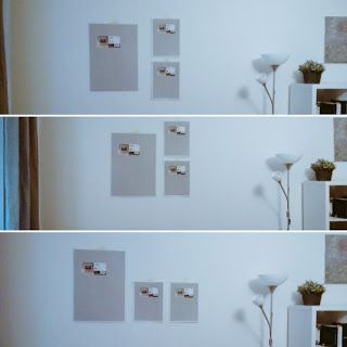 How to hang up pictures - simple but perfect solution