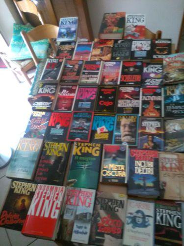 Lotto-43-libri-di-Stephen-King