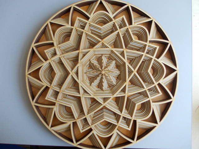 Dxf Files For Laser Multilayer Mandala Floors Layouts Instant