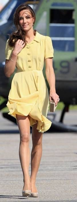 Kate Middleton. Her legs are obscenely perfect.