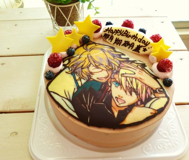 25+ Best Ideas About Anime Cake On Pinterest