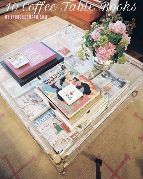 Lauren Conrad's favorite coffee table books #LaurenConrad