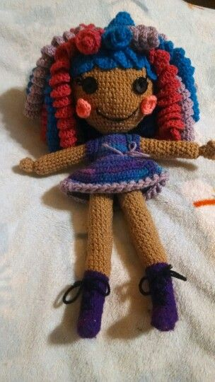 Grape-sodia, lala doll i made for my daughter!