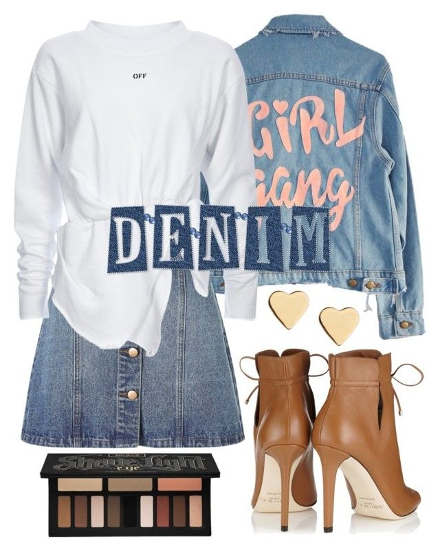 """""""Senza titolo #431"""" by kirsten-weigh on Polyvore featuring moda, High Heels Suicide, Anita & Green, Jimmy Choo, Lipsy e Kat Von D"""