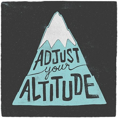 Theme of the week, approaching projects from a higher level, and it's time to go on a hill climbing adventure. #cycling #altitude #typ...