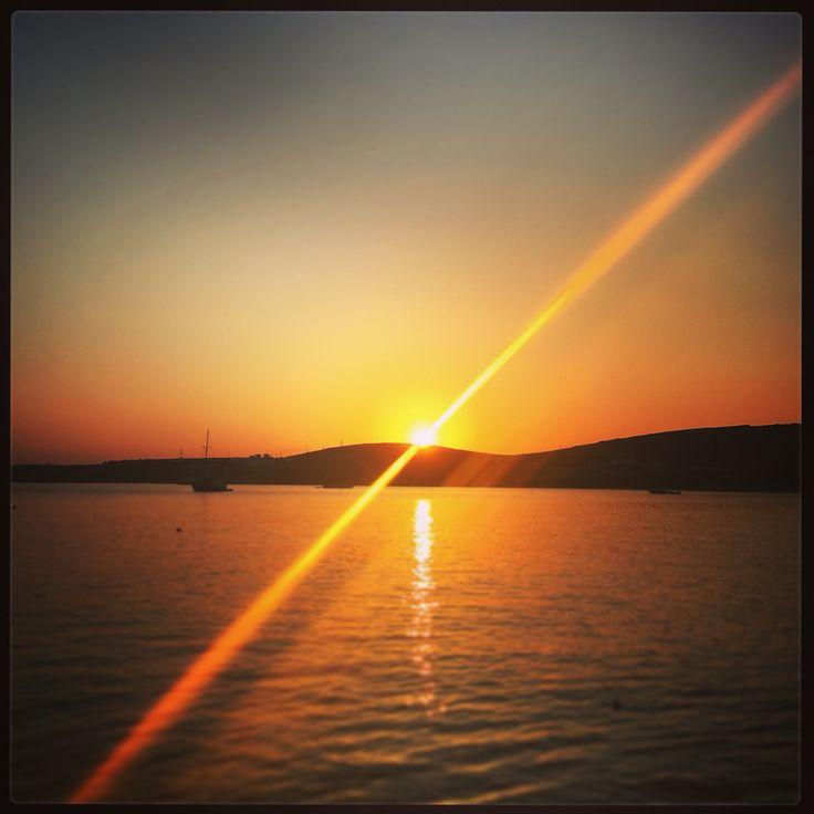#sunset #cyclades #greece