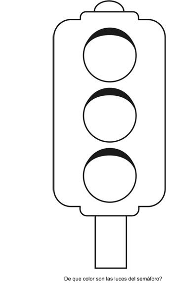semaforo peatonal para colorear - Buscar con Google