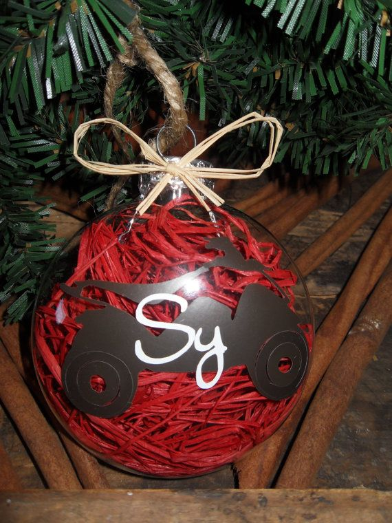 Personalized Four-Wheeler Disc Christmas by BackFortyAcres ...