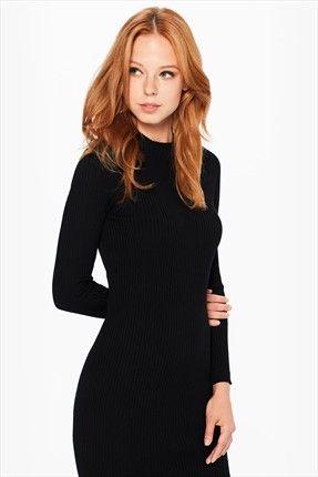 Twist Kadın Siyah Elbise    Kadın Siyah Elbise Twist Kadın                        http://www.1001stil.com/urun/5415759/twist-kadin-siyah-elbise.html?utm_campaign=Trendyol&utm_source=pinterest