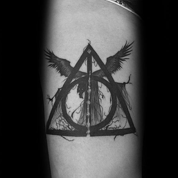40 Dementor Tattoo Designs For Men Harry Potter Ink Ideas Tattoo Pins Tattoo Designs Men Tattoo Designs Best Tattoo Designs