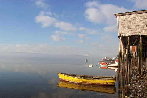Castro's Bay - Isla de Chiloé, Chile by whl.travel, via Flickr