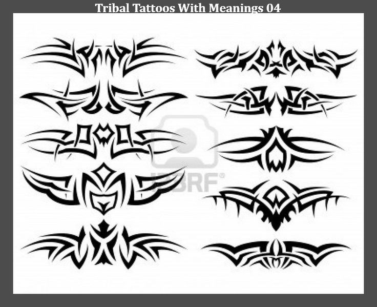 tribal tattoos with meanings 04 tatuering pinterest tatuering. Black Bedroom Furniture Sets. Home Design Ideas