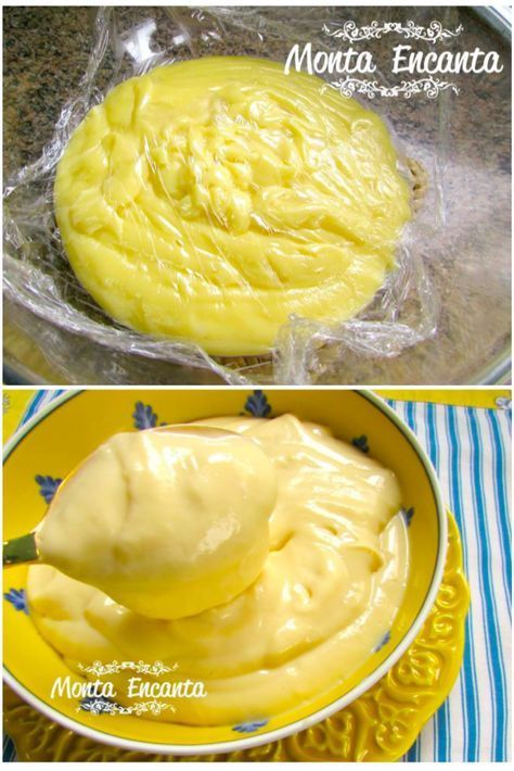 Como preparar um perfeito Creme de Confeiteiro Patissière, com fotos do passo a passo.