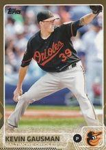 2015 Topps Baseball Gold /2015 #619 Kevin Gausman - Baltimore Orioles