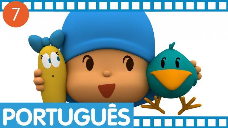 Pocoyo - Episódios completos em Português (Temporada 1 - Ep.25-28)