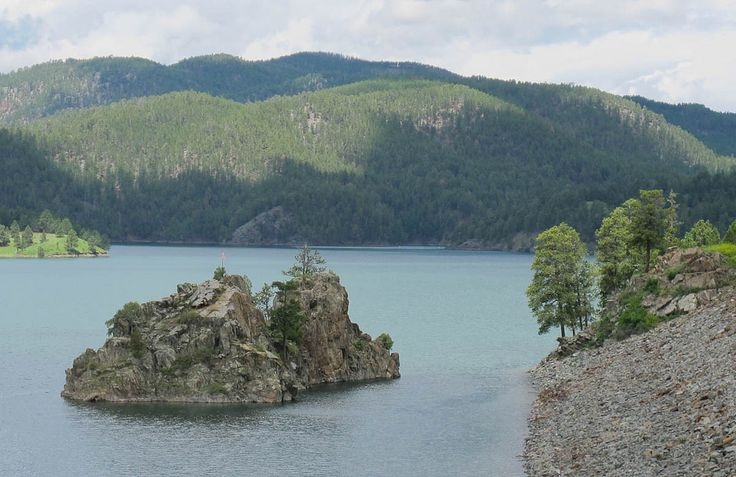 10 Pactola Lake In The Central Hills Of The Black Hills