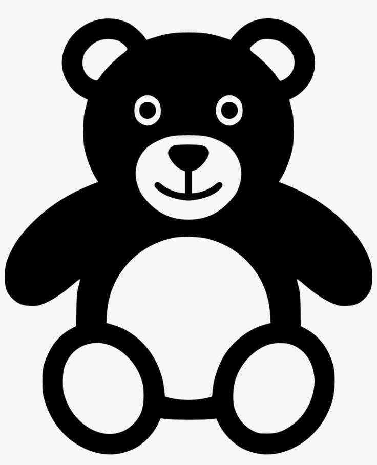 Bear Clipart Black And White Teddy Bear Images Bear Plush Toy Teddy Bear Plush