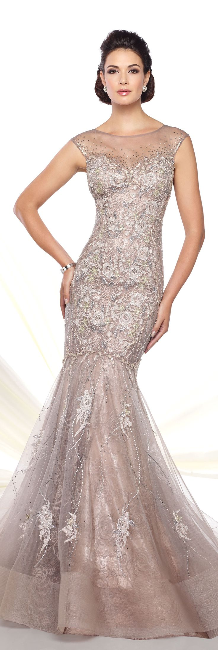 Formal Evening Gowns by Mon Cheri - Spring 2016 - Style No. 116D25 #eveninggowns