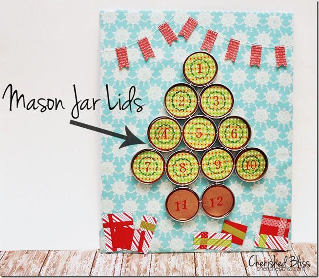 Advent Calendar Idea | Mason Jar Crafts Love