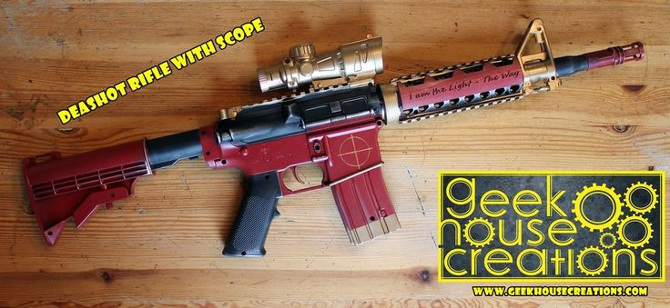 Deadshot Suicide Squad Rifle