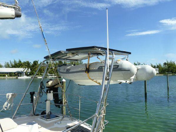 Sailboat Arch Davits Google Search Boat Life Boat
