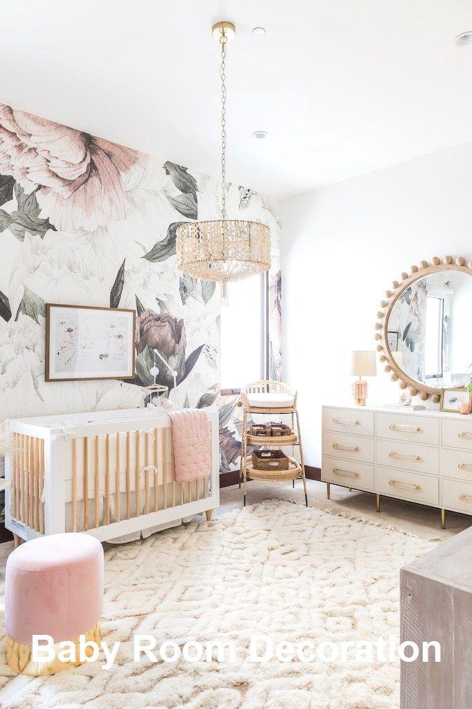 New Baby Room Decoration Ideas In 2020   Girl Nursery Room, Nursery Baby Room, White Nursery