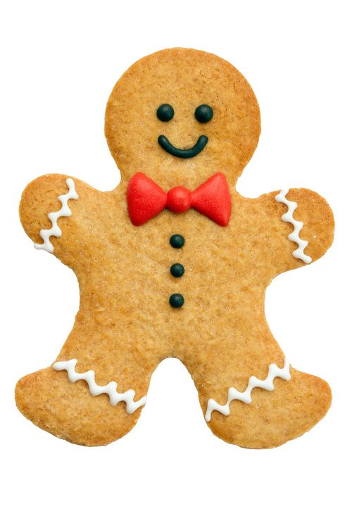 One of my gingerbread cookies