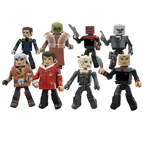 Star Trek Legacy Minimates Series 1 Set - Diamond Select - Star Trek - Mini-Figures at Entertainment Earth