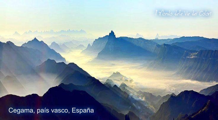 Cegama, país vasco, España