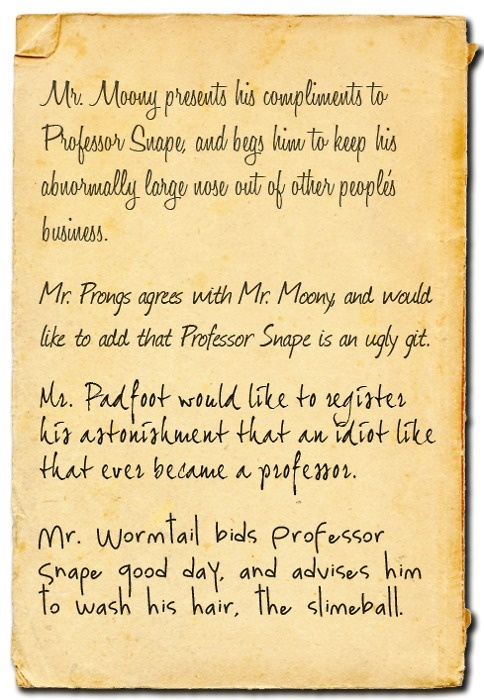 Mr. Moony, Mr.Prongs, Mr Padfoot & Mr. Wormtail. | I ...