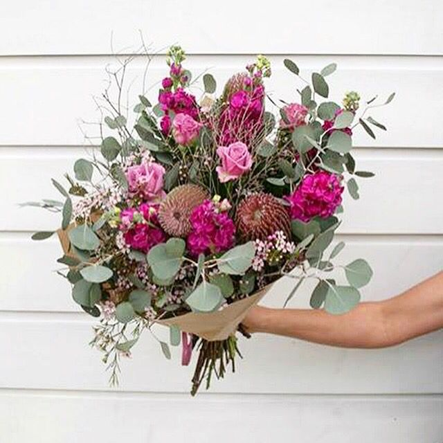 Big pink and awesome bunch. Bloom Tribe design