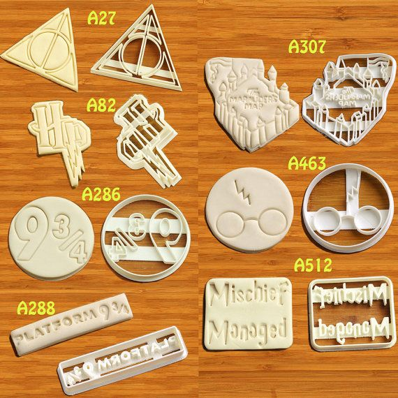 Harry Potter Cookie Cutter Harry Potter partie Harry Potter anniversaire Harry Potter Harry Potter Cupcake Harry Potter Cake Topper marque Baby