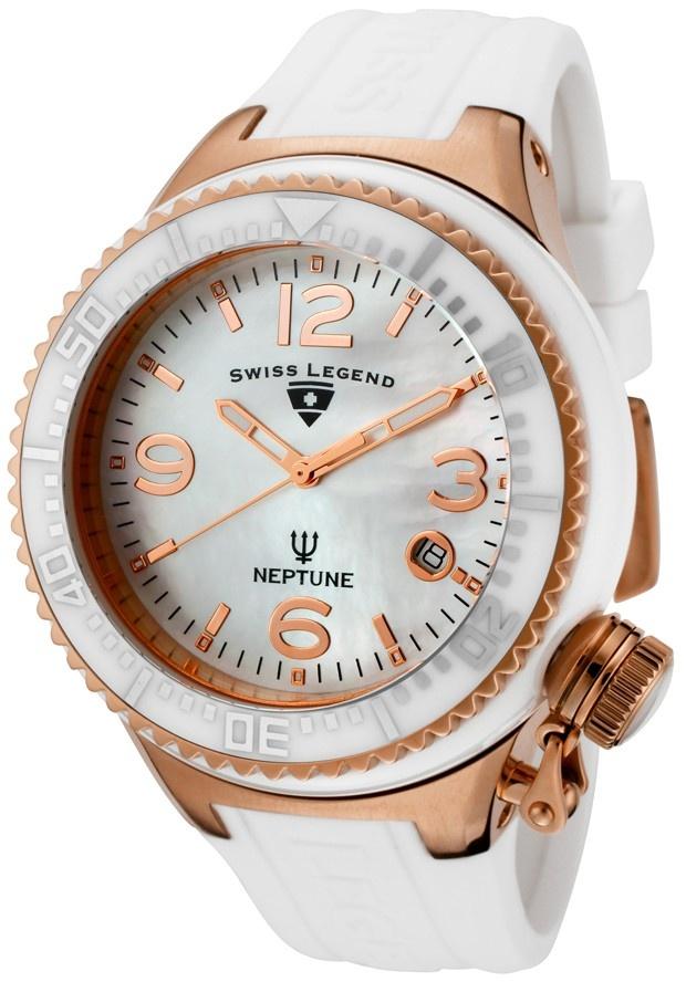 Swiss Legend Neptune Ceramic Ladies SL-11844-WWRA