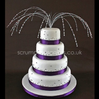 Images Of Purple Cakes